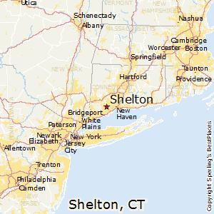 Shelton, Connecticut Location